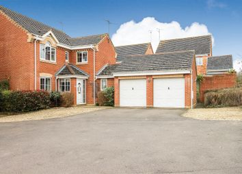 Thumbnail 4 bed detached house for sale in Edgehill Drive, Lang Farm, Daventry