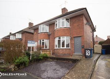 Thumbnail 2 bed semi-detached house for sale in Orchard View Road, Chesterfield