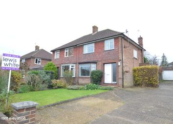 Thumbnail 3 bed semi-detached house for sale in Weald Way, Reigate, Surrey
