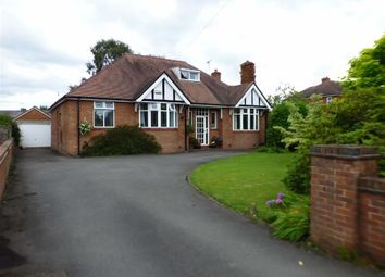 Thumbnail 4 bedroom detached bungalow for sale in Offley Road, Sandbach