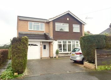 Thumbnail 4 bed detached house for sale in Cowper Road, Burbage, Hinckley