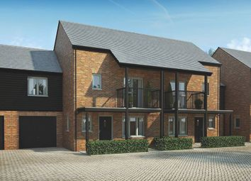 """Thumbnail 3 bed semi-detached house for sale in """"The Farleigh"""" at Andover Road North, Winchester"""