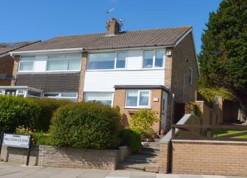 Thumbnail 3 bed semi-detached house to rent in Helton Close, Prenton