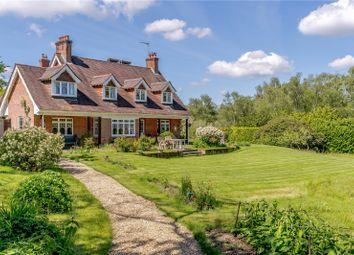 Thumbnail 6 bed detached house for sale in Shobley, Ringwood