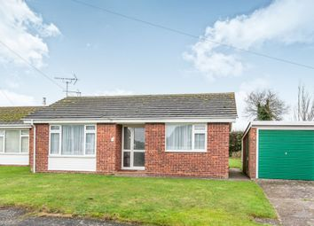 Thumbnail 2 bedroom detached bungalow for sale in St Nicholas Drive, Feltwell, Thetford