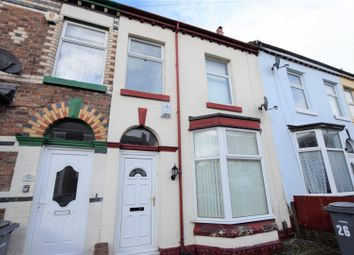 Thumbnail 3 bedroom terraced house to rent in Whitford Road, Tranmere, Birkenhead