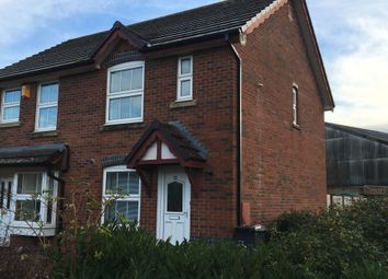 Thumbnail 2 bed end terrace house to rent in Jones Close, Yatton