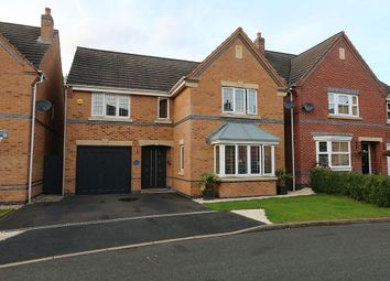 Thumbnail 4 bed detached house for sale in Curlew Drive, Brownhills, Walsall, West Midlands