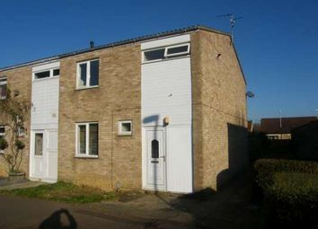 Thumbnail 3 bed terraced house to rent in Cleatham, Bretton, Peterborough