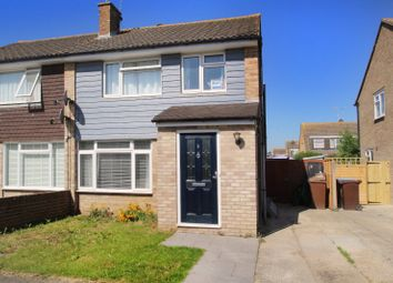 Thumbnail 3 bed semi-detached house for sale in Thakeham Close, East Preston, West Sussex