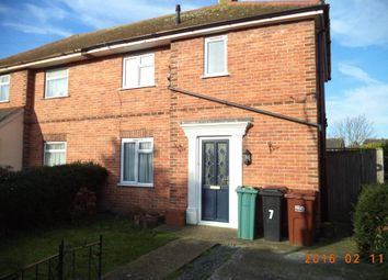 Thumbnail 2 bed semi-detached house to rent in Court Road, Eastbourne