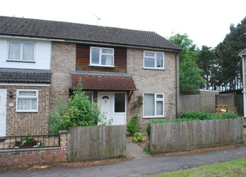 Thumbnail 3 bedroom end terrace house to rent in Bracken Road, Thetford
