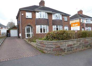 Thumbnail 3 bedroom semi-detached house to rent in Sandon Road, Meir Heath, Stoke-On-Trent