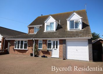Thumbnail 4 bed detached house for sale in Winmer Avenue, Winterton-On-Sea, Great Yarmouth
