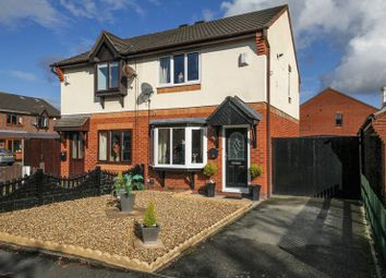 Thumbnail 2 bedroom semi-detached house for sale in Longfellow Close, Wigan