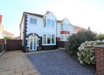 Thumbnail 3 bed semi-detached house for sale in Crossway, Cleveleys