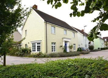 Thumbnail 4 bed detached house for sale in Marshalls Way, Little Canfield, Dunmow