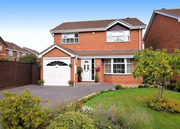 Thumbnail 4 bed detached house for sale in Moorfield Avenue, Knowle, Solihull