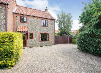 Thumbnail 3 bed end terrace house for sale in Aylmerton, Norwich, Norfolk