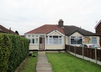 Thumbnail 2 bed bungalow to rent in Jubilee Avenue, Romford