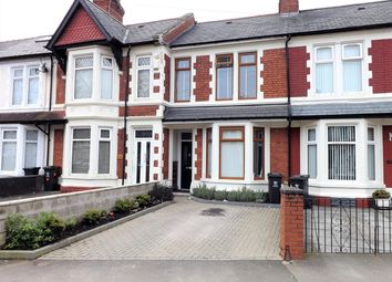 Thumbnail 3 bed terraced house to rent in Moorland Road, Splott, Cardiff