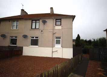 Thumbnail 2 bed flat for sale in 121, Dundonald Park, Cardenden, Fife