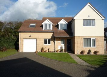 Thumbnail 4 bed detached house for sale in Fonmon Road, Rhoose, Barry