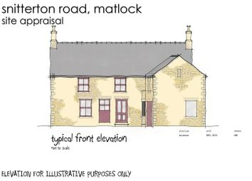 Thumbnail Land for sale in Snitterton Road, Matlock