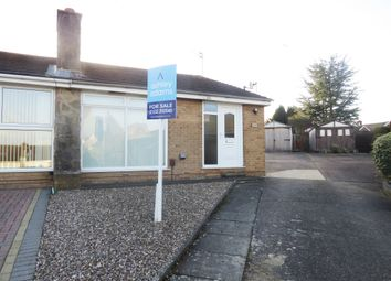 Thumbnail 2 bed semi-detached bungalow for sale in Shannon Close, Sunnyhill, Derby