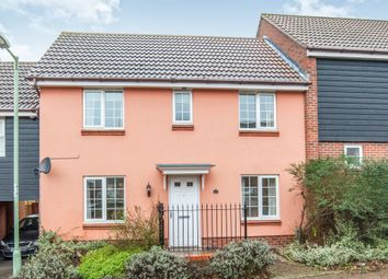 Thumbnail 3 bedroom terraced house for sale in Billings Close, Haverhill