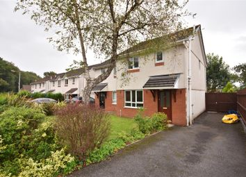 Thumbnail 3 bed semi-detached house to rent in Clos Canowen, Cwmrhydyceirw, Swansea