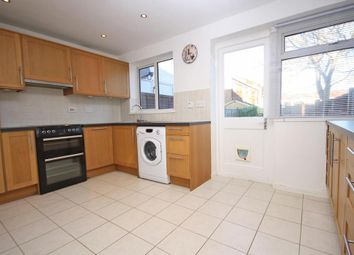 Thumbnail 3 bed terraced house to rent in Kingsley Road, Horley