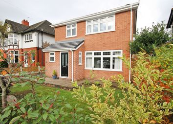 Thumbnail 3 bed detached house for sale in Higher Knutsford Road, Stockton Heath, Warrington