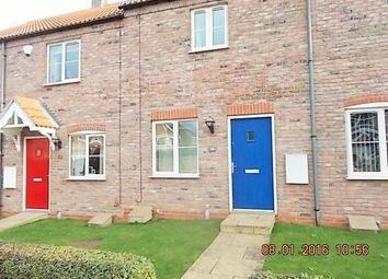 Thumbnail 2 bed terraced house to rent in Wisteria Drive, Healing, Grimsby