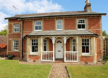 Thumbnail 4 bed detached house for sale in Station Road, Alderholt, Fordingbridge