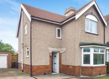 Thumbnail 3 bedroom semi-detached house for sale in Rosewood Crescent, Walkerville, Newcastle Upon Tyne