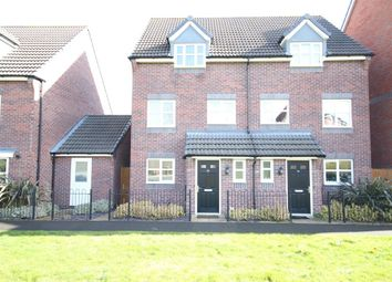 Thumbnail 3 bed semi-detached house to rent in College Green Walk, Mickleover, Derby