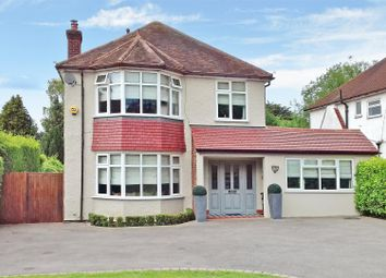 Thumbnail 4 bed detached house for sale in Cheam Road, Ewell, Epsom