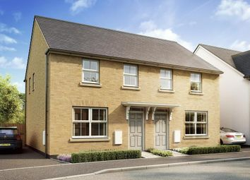 "Thumbnail 3 bedroom end terrace house for sale in ""Archford"" at West Yelland, Barnstaple"