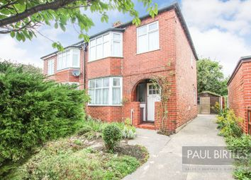 Thumbnail 3 bed semi-detached house for sale in Rothiemay Road, Flixton, Manchester