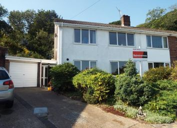 Thumbnail 3 bed semi-detached house for sale in Deanwood Road, River, Dover, Kent