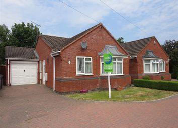 Thumbnail 2 bed detached bungalow for sale in Lapley Drive, Stretton, Burton-On-Trent