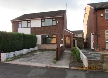 Thumbnail 2 bed semi-detached house to rent in Ravenswood Dr, Audenshaw