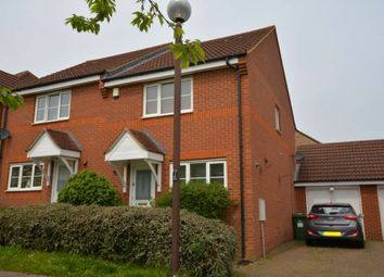Thumbnail 3 bedroom semi-detached house to rent in Holborn Crescent, Tattenhoe, Milton Keynes