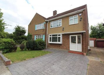 3 bed semi-detached house for sale in Farnes Drive, Gidea Park, Essex RM2