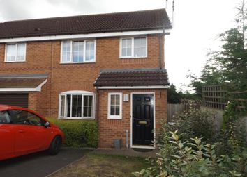 Thumbnail 3 bed end terrace house for sale in Laughton Close, Northfield, Birmingham, West Midlands