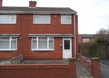 Thumbnail 3 bed end terrace house to rent in Woburn Road, Blackpool