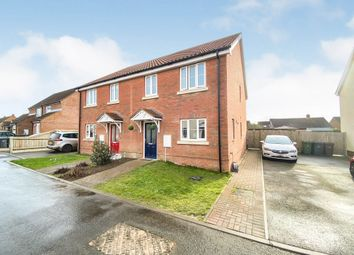 3 bed semi-detached house for sale in Burghwood Drive, Mileham, King's Lynn PE32