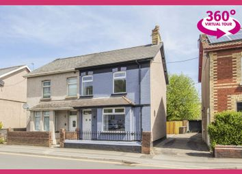 Thumbnail 3 bed semi-detached house for sale in Commercial Street, Newport, View 360 Tour At Ref#00006888