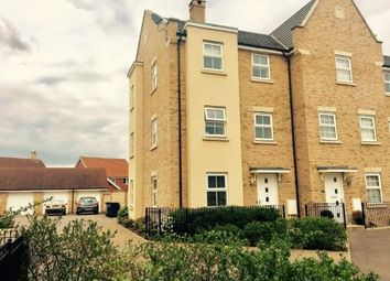 Thumbnail 4 bedroom terraced house for sale in Buttercup Avenue, Eynesbury, St. Neots, Cambridgeshire